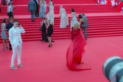 Der rote Teppich des MIFF 38 - Eröffnung des Festivals Lizenzfreie Stockbilder
