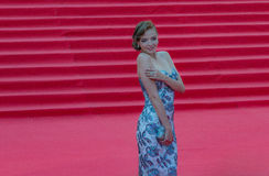 Der rote Teppich des MIFF 38 - Eröffnung des Festivals Lizenzfreies Stockfoto