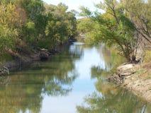 Der ruhige Trinity Fluss Lizenzfreies Stockfoto
