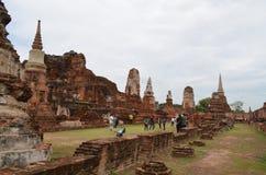 Der Ruinetempel im ayutthaya Stockfotos