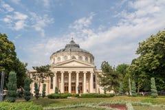 Der rumänische Athenaeum Stockfotografie