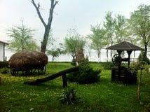 Der rumänische traditionelle Garten Lizenzfreie Stockfotos