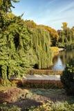 Der sächsische Garten in Warschau Stockbilder