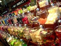 Der Süßigkeits-Shop Stockfoto