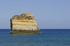 An der Südküste von Portugal Stockbilder