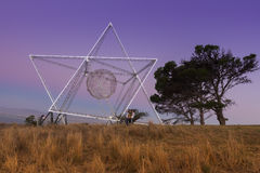 Der südliche Solarstern Stockbild