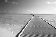 Der südlichste Pier stockfotografie