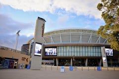 Der Südtoreingang zu neu entwickelten Adelaide Oval Stockbild