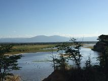 Der Sambesi Chirindu Simbabwe lizenzfreie stockfotografie
