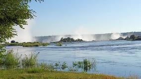 Der Sambesi vom Sambia Lizenzfreies Stockbild