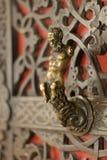 Der Satyr auf der Tür Lizenzfreies Stockbild