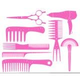 Der Satz des Friseurs in einem Vektorformatteil 1 Lizenzfreie Stockbilder