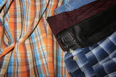 Der Satz von Proben des Modedesigners Lizenzfreie Stockfotografie