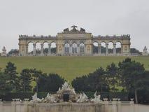 Der Schönbrunn-Palast-Garten Gloriette Stockfoto