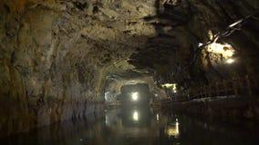 Der schöne Beihai-Tunnel stock video