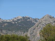 Der schöne Berg Stockfoto