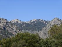 Der schöne Berg Stockfotografie