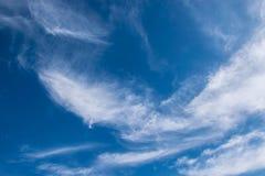 Der schöne Himmel und die Wolken Lizenzfreie Stockfotografie