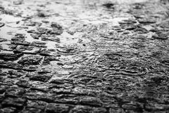 Der schöne Hintergrund des Regens Lizenzfreies Stockbild