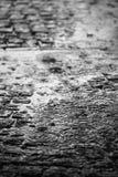 Der schöne Hintergrund des Regens Stockfotos