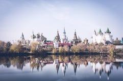 Der schöne Kreml zu Izmailovo Stockfotos