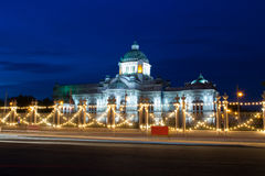 Der schöne Palast des Königs Lizenzfreie Stockfotografie