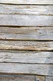 Der schöne rustikale Blick einer alten hölzernen Wand Lizenzfreies Stockbild