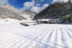 Der schöne Schnee von NO1 San-Tanggai Stockfotografie