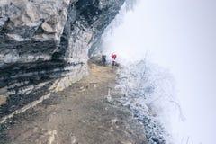 Der schöne Schnee von San Tanggai Lizenzfreies Stockbild