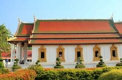 Der schöne Tempel in Thailand stockbilder