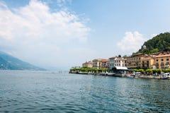 Der sch?nste See auf der Welt Lago Como Lombardei, Italien stockbilder