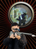 Der Scharfschütze Lizenzfreie Stockfotos