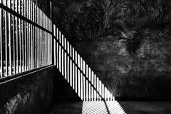 Der Schatten des Lichtes stockbilder