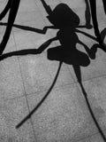 Der Schatten einer riesigen Ameise Lizenzfreie Stockbilder