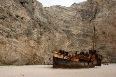 Der Schiffbruch lizenzfreies stockfoto
