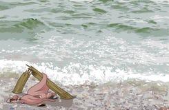 Der Schiffbruch des Mastes Lizenzfreies Stockbild