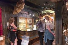 Der Schiffbruch hütet Museum, in Key West, erzählt Florida, das Museum die Geschichte der Wreckersindustrie in altem Key West Stockbild