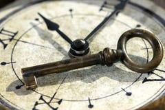 Der Schlüssel der Vergangenheit Stockbild