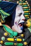 Der Schlagzeugerpantomime in StPetersburg Stockfotos