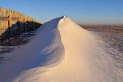 Der Schnee-Antrieb Stockbilder