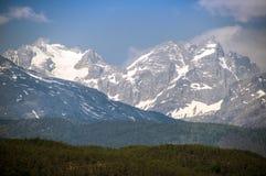 Der Schneeberg im Lijiang Stockbilder