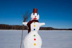 Der Schneemann Stockfotos