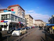 Der schnelle flüchtige Blick von Berlin City Lizenzfreie Stockbilder