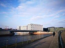 Der schnelle flüchtige Blick von Berlin City Stockfotos