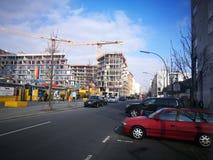 Der schnelle flüchtige Blick von Berlin City Stockfoto