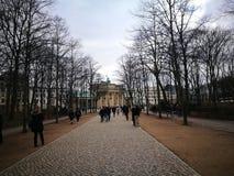 Der schnelle flüchtige Blick von Berlin City Lizenzfreies Stockbild