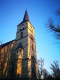 Der schnelle flüchtige Blick von Berlin City mit einer speziellen Kirche Lizenzfreies Stockfoto