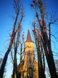 Der schnelle flüchtige Blick von Berlin City mit einer speziellen Kirche Lizenzfreie Stockbilder