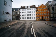 Der Schnitt von Ã-… benrÃ¥ und von Hauser Plads in Kopenhagen, Höhle stockbild