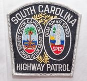 Der Schulterflecken Süd-Carolina Highway Patrols in South Carolina lizenzfreies stockbild